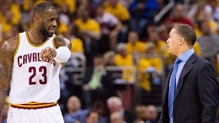 "Tyronn Lue Tells LeBron James To ""Shut The F*ck Up"""