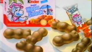 Kinder Happy Hippo Snack Werbung 1995