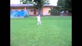 Cristiano Ronaldo quando era pequeno