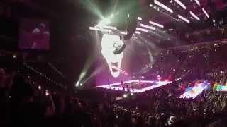 Miley Cyrus Bangerz Tour - SMS Bangerz - Live