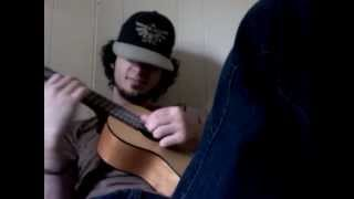 Handlebars Acoustic Cover Guitar Guitalele by Flobots