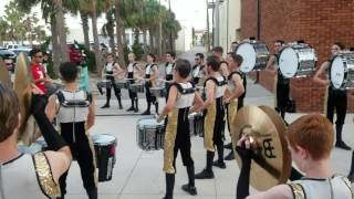 N.H.S. Daytona Beach Championship Indoor Percussion 2017 Highlights