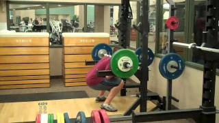 Aaron Fink - Back Squatting
