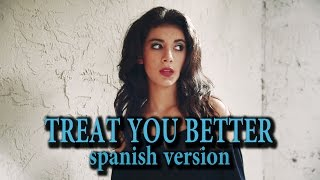 Shawn Mendes - Treat You Better (spanish cover) Giselle Torres