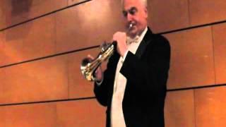 Luciano Marconcini al Corno di Postiglione (Mozart - Serenata Posthorn - Minuetto e Trio II)