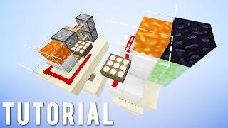 Minecraft: Fancy Redstone Lava Lighting