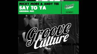 Micky More & Andy Tee - Say To Ya
