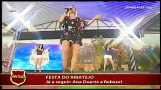 """JOANA """"O Zé mete a estaca"""" em Santarém na Festa do Ribatejo (TVI)"""