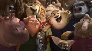 Zootopia - Try Everything By Shakira (Music Video)