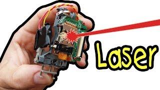Laser caseiro super potente como fazer? EP1