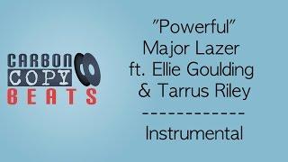 Powerful - Instrumental / Karaoke (In The Style Of Major Lazer ft. Ellie Goulding & Tarrus Riley)