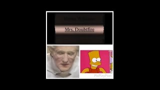 Mrs. Doubtfire - The Simpsons Edition
