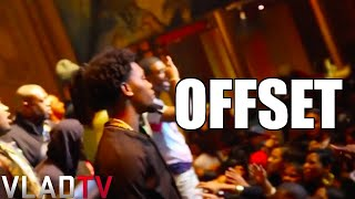 "Migos Member Offset ""Superman Punches"" Fan; Brawl Ensues"
