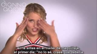Dianna Agron y Chace Crawford - Gossip Glee sneak peek