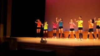 Brianna Valentina dancing