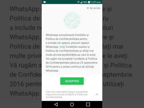 WhatsApp, termeni și condiții controversate
