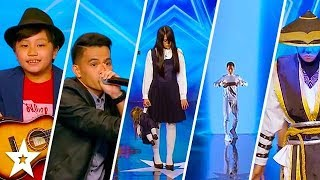 TOP 5 MOST AMAZING AUDITIONS on Asia's Got Talent 2017   Got Talent Global width=