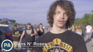 Guns N' Roses fans at Hersheypark Stadium