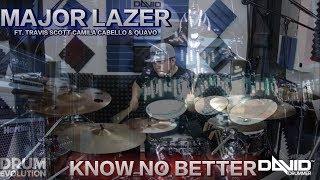Major Lazer - Know No Better feat Travis Scott, Camila Cabello (DRUM EVOLUTION COVER)