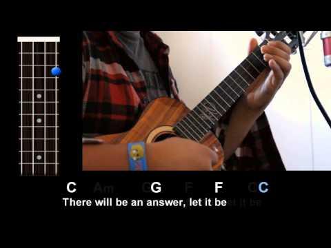 Comment jouer Let It Be des Beatles au ukulélé