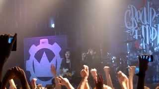 Crown The Empire – Lead Me Out Of The Dark - Live @ Moscow 17.02.2015