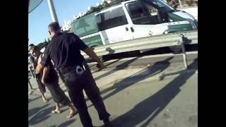 Bomberos - Accidente de Camion en A-7 (  La Cala) Mijas