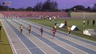 Athletics Curacao National Championship Sprint 60m Girls  20 06 2014 by miv.tv curacao