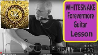 Whitesnake Forevermore acoustic