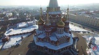 Свято-Михайловский собор, 4k video, Студия IzhFly