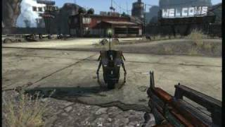 Borderlands Gameplay (Xbox 360) Fresh off the bus