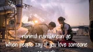 K.WILL-TALK LOVE ( 말해! 뭐해?) [Descendants Of The Sun OST] LYRICS (ROM/ENG)