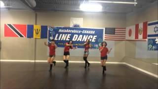 설운도-사랑의트위스트(Line Dance)-HalaAerobics-CANADA