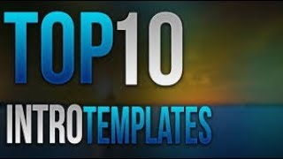 Top 10 Free Intro Templates No Text  ( Free Download )