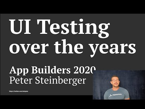 UI Testing over the years