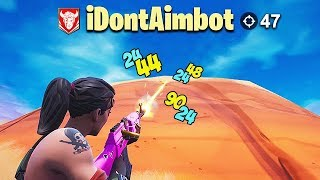 *HACKER* WITH 47 KILLS GETS TROLLED! - Fortnite Funny Fails and WTF Moments! #490