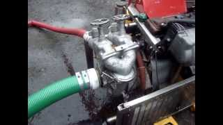 fire pump vw 1.6 diesel engined for sale