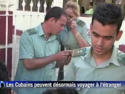 Les Cubains peuvent voyager à l'étranger, première depuis 50 ans