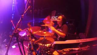 animal pearl jam (cover) with roy jeconiah drumcam @my place mlg 2016