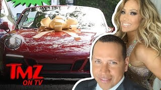 A-Rod Says J Lo Has Been Driving Her New Car | TMZ TV