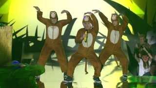 Entscheidungsshow zum ESC 2013 - Anthony Bighead mit «Do The Monkey»