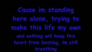 Mayday parade-still breathing- LYRICS!