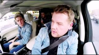 One Direction - No Control Video (ft James Corden)