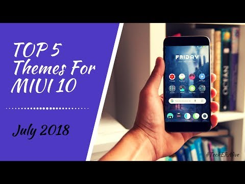 Download thumbnail for Top 5 Amazing Themes For MIUI 9 & MIUI 10