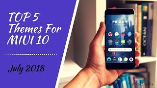Download thumbnail for Top 5 Amazing Themes For MIUI 9