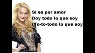 Violetta y Ludmila-Si es por amor lyrics