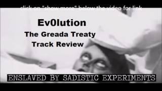 Ev0lution - The Greada Treaty track review feat. Adam Warren form Oceano off album Uprise