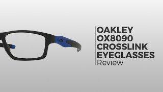 511a60b0296 Oakley OX8090 CROSSLINK MNP 809009 Glasses Black