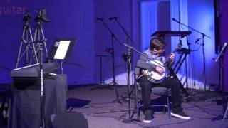 Jonah Prichard covers Cantina Band in live recital January 16 2016