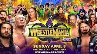 WWE Wrestlemania 34 Trailer