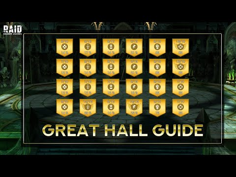 How to Maximize your Great Hall Efficiency I Raid Shadow Legends